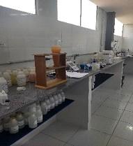 Laboratório de análise de água e efluentes